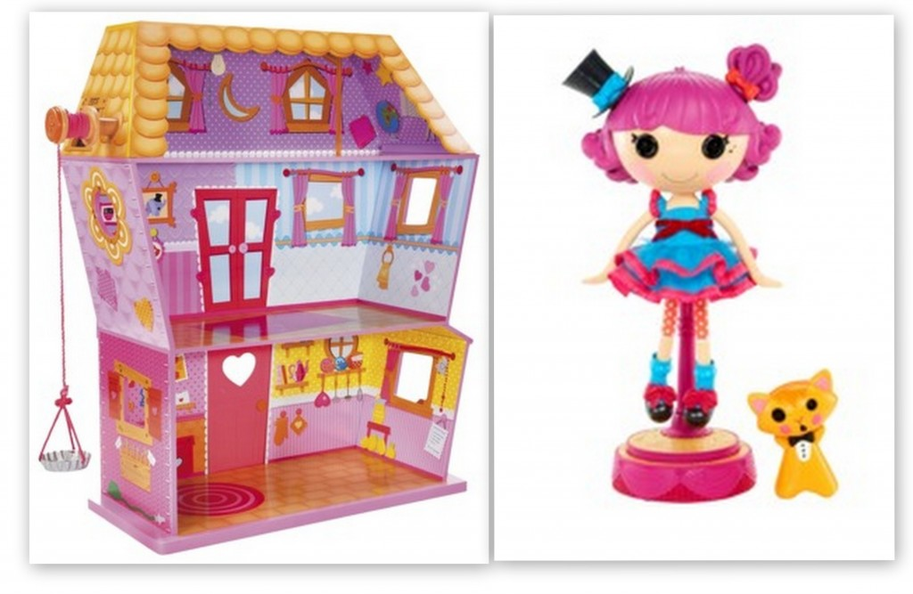 loopsy 1024x667 Lalaloopsy Sew Magical House plus a FREE Silly Hair Star Doll   Harmony B Sharp $149 Shipped