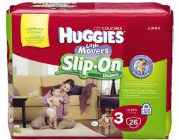 New $2/1 Huggies Slip-On Diapers Printable Coupon!