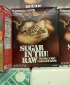 sugar 246x300 Sugar In The Raw Packets Just 25¢ at The Dollar Tree