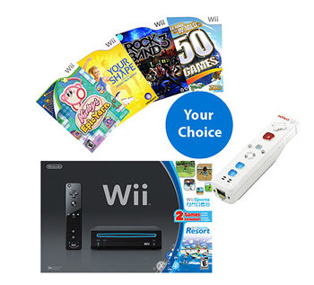 wii Nintendo Wii Ultimate Value Bundle for $159 Shipped