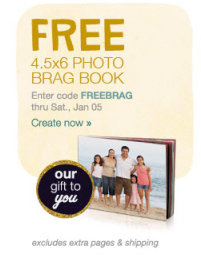 2013bragbook FREE Brag Book Courtesy of Walgreens ($6.99 Value) + Shipping
