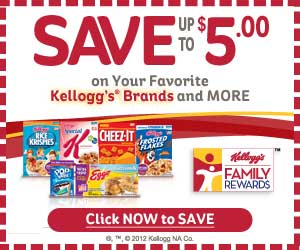 22335 Kelloggs Family Rewards   New Point Codes (Redeem for Rewards or Coupons)