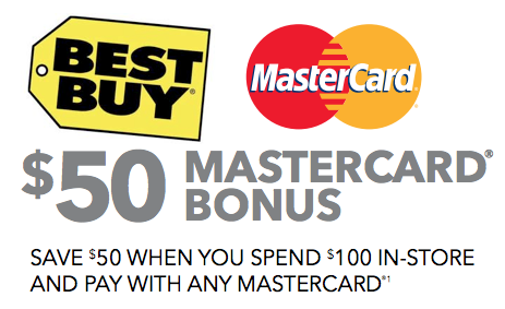 Best Buy Mastercard coupon *Expired* Best Buy | Save $50 When You Spend $100 Using Mastercard