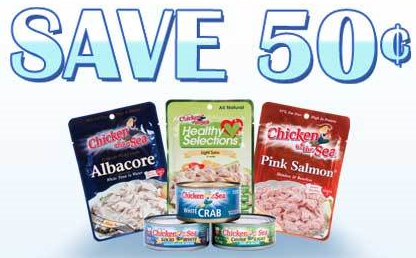 Chicken of the sea Chicken of the Sea Printable Coupon | Pay only 29¢ for a can at Walgreens