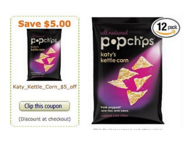 Screen Shot 2013 01 11 at 10.48.49 AM $5 off Popchips Amazon Coupon + Deal