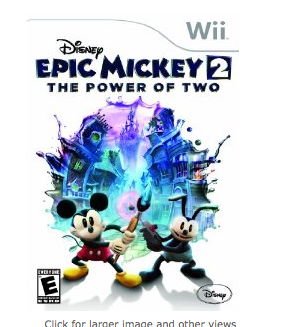 Screen Shot 2013 01 11 at 8.04.41 AM Disney Epic Mickey 2 Wii Game for $9.99 Shipped