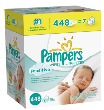 Screen Shot 2013 01 14 at 9.10.31 AM 448 Pampers Sensitive Wipes for $9.48 Shipped
