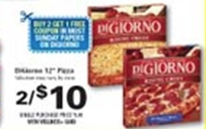 Screen Shot 2013 01 17 at 1.21.30 PM Rite Aid: Di Giorno Pizza as low as $1.66 each!
