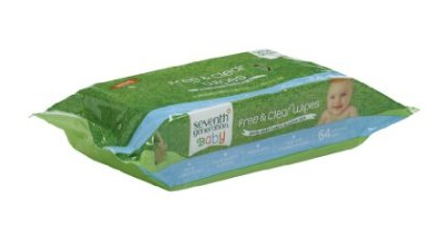 Screen Shot 2013 01 21 at 9.00.44 AM 384 Seventh Generation Baby Wipes for $7.99 Shipped