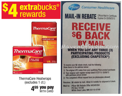 Thermacare-CVS-Rebate