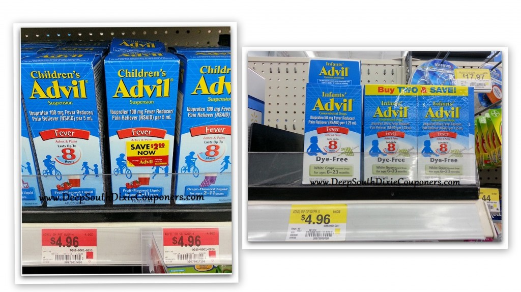 advil collage 1024x574 Childrens or Infant Advil Printable Coupon | Makes It Less Than $2 at Walmart