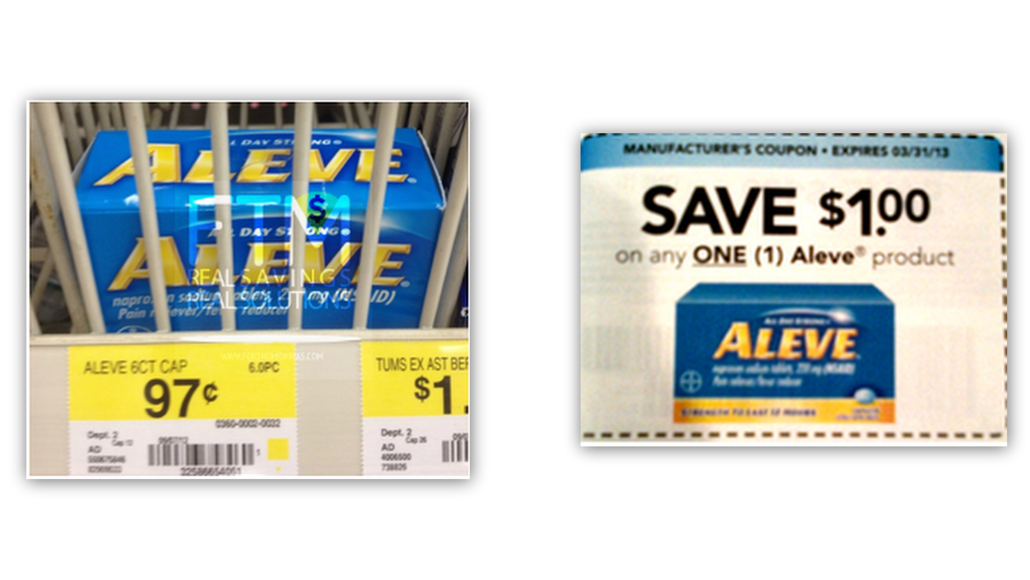 January All You Magazine | FREE Aleve Trial Size at Walmart