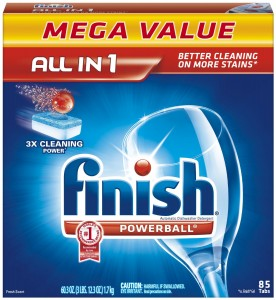 Amazon: Finish Powerball Dishwasher Tabs (85-count) for $11.03 Shipped!