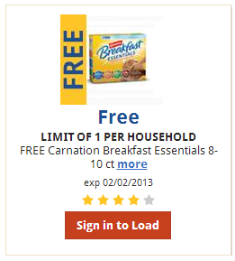 free box of carnation breakfast essentials at kroger FREE Box of Carnation Breakfast Essentials at Kroger