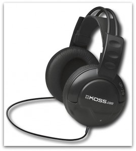 headphone 269x300 Koss UR20 Home Stereo Headphone for $9.99 plus FREE Shipping