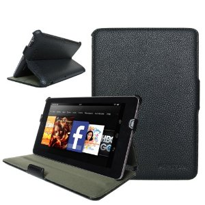 kindle case Kindle Fire Slim Fit Case Cover With Stand for $14.99 (down from $39.99)
