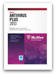 mcafee FREE McAfee AntiVirus Plus Malwarebytes After Rebate