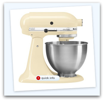 mixer KitchenAid 4.5 Quart Ultra Power Stand Mixer $199 Shipped (Today Only)
