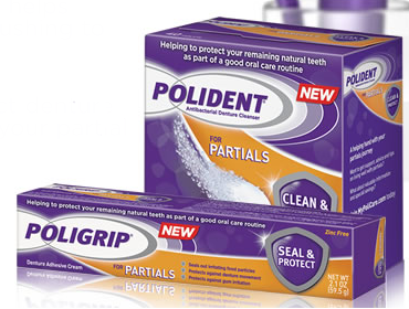 poligrip FREE Sample of Poligrip Adhesives   1st 5,000