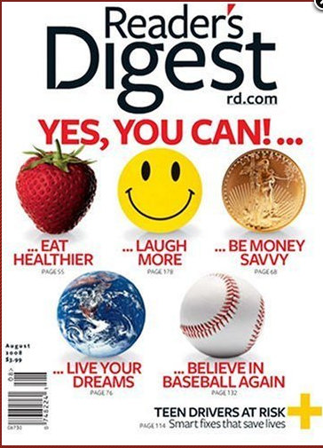 reader Readers Digest Magazine Subscription for $3.99 (33¢ per issue)