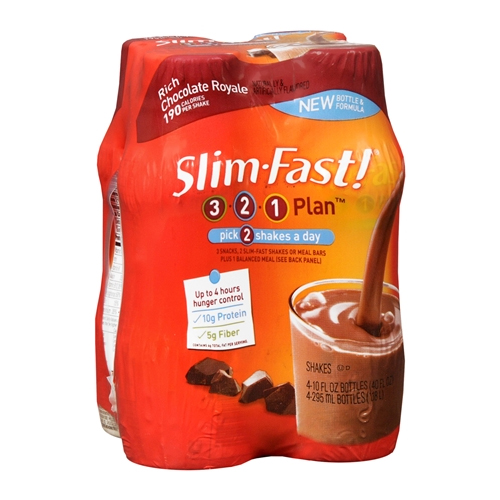 Slim Fast 4-Packs | $1.99 at Publix