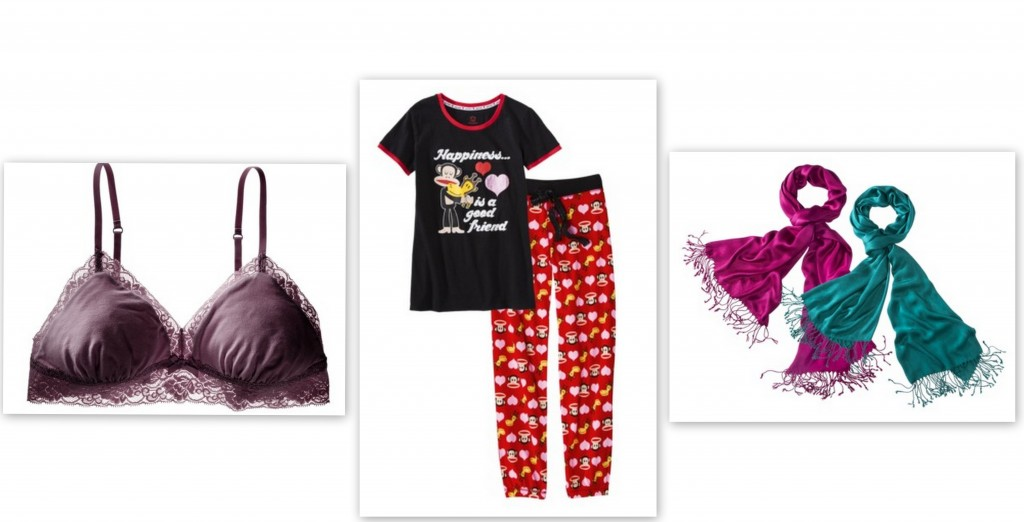 target 1024x522 Target Daily Deals: Womens Lace Bralette, Junior Knit Sleepwear and Solid Pashminas