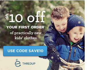 thredup FREE $10 Code To ThredUP = FREE Items (Just Pay Shipping)