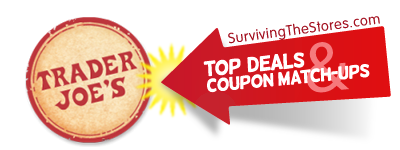 trader joes coupon matchups 1713 11313 Trader Joe's Coupon Matchups – 1/7/13 – 1/13/13