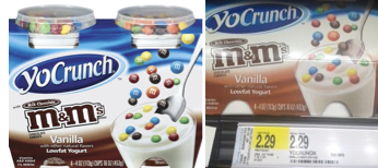 yocrunch YoCrunch Yogurt Printable Coupons + Target Scenario