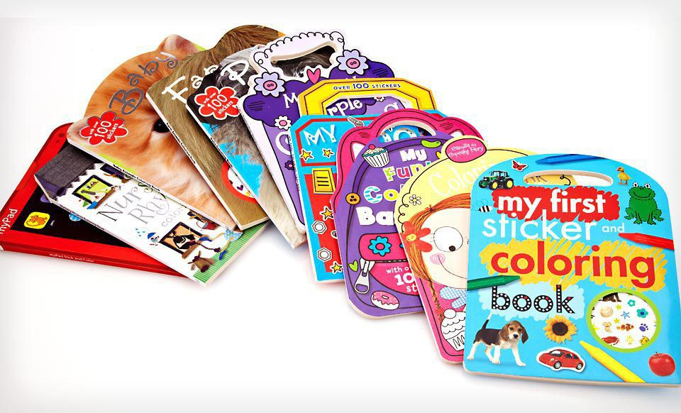RackMultipart20130206 26290 1ahintq wide 10 Book Ultimate Sticker and Coloring Collection for $15 Shipped