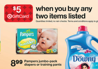Screen Shot 2013 02 10 at 10.52.20 AM Target: Pampers Diapers for as low as $4.49 per pack