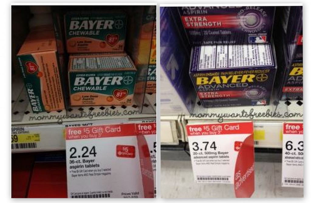 bayer 1024x668 Bayer Aspirin Moneymaker Deal at Target