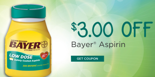 bayer2 New Rite Aid Exclusive Coupons