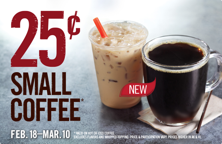 burger king coffee Burger King: 25¢ Small Coffee (No Coupons Required)