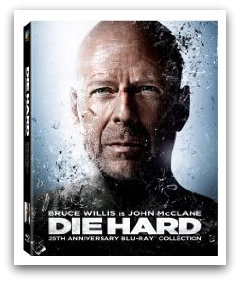 die hard Die Hard 25th Anniversary Blu ray Collection for $25 Shipped