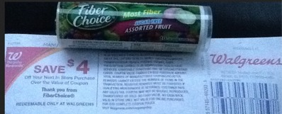 fiber choice Fiber Choice Catalina Offer | Makes it FREE at Walgreens
