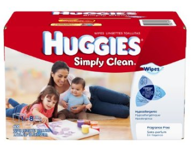 huggies Huggies Simply Clean Fragrance Free Baby Wipes $10.69 Shipped (less than 2¢ per wipe)