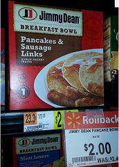 jimmy dean Jimmy Dean Pancake & Sausage Printable Coupon = 50¢ at Walmart