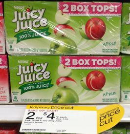 juicy juice Juice Juice Drink Boxes Just $1 at Target