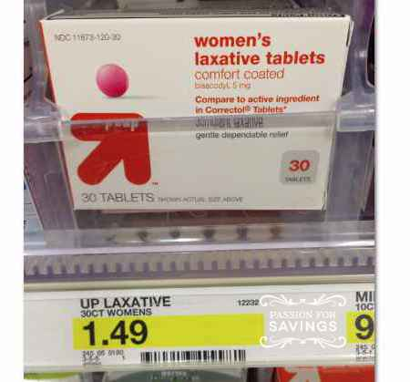 laxative FREE Digestive Products at Target (plus more cheapies)