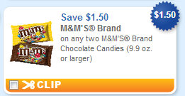 mm M&Ms Brand Printable Coupon + Stores Deals