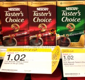 nescafe1 Nescafe Tasters Choice Coupon | Makes It 27¢ at Target and 50¢ at Dollar Tree