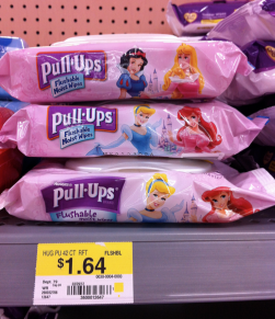 pull ups $1/1 Pull Ups Flushable Moist Wipes Printable Coupon | Makes them 64 Cents per Pack at Walmart
