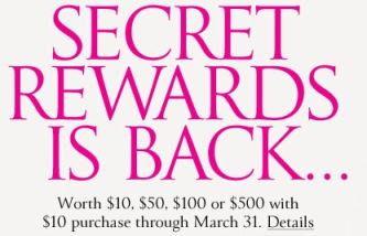 secret FREE Victorias Secret Rewards Card