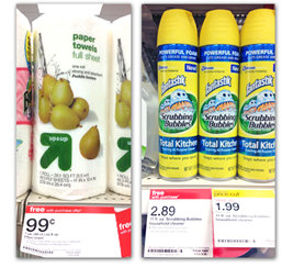target Scrubbing Bubbles Total Kitchen Cleaner Promotion at Target
