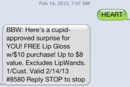 text offer