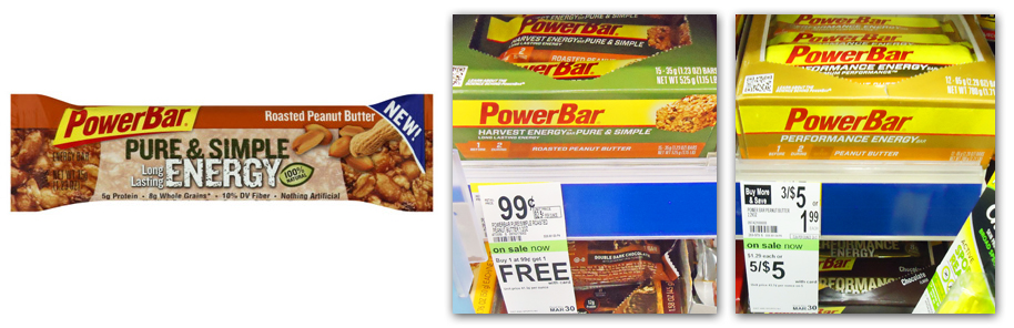 PowerBar Coupon1 Power Bar 16¢ Deal at Walgreens