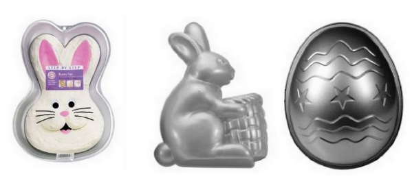 easter cake pans