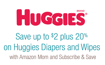 huggies coupons on amazon