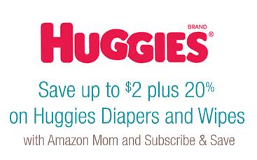 huggies coupons on amazon